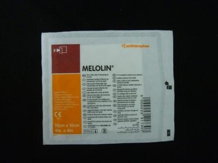 Compresse absorbante Melolin, 10x10cm